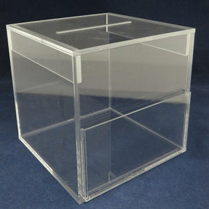 "Draw Box - Clear (6"" x 6"" x 6)"