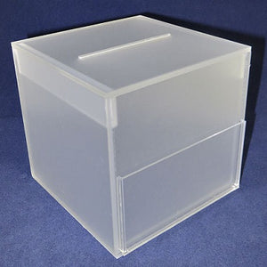 "Draw Box - Frosted (6"" x 6"" x 6)"