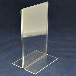 "Menu Stand - T Style - 5.5"" x 8.5"""