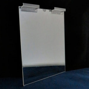 "Slatwall Single Page Holder - 8.5"" x 11"" (portrait)"