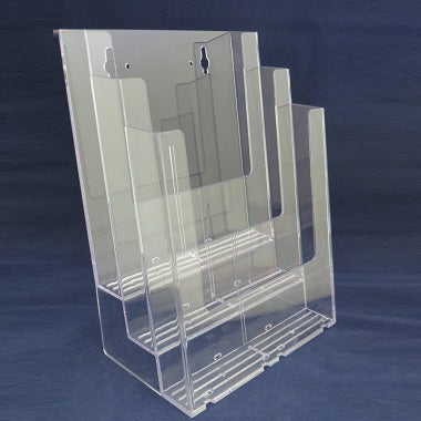 Brochure Holder - Full Page - Stacked (3C8)