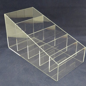 "Straw Holder - 6"" wide - 5 Compartment"