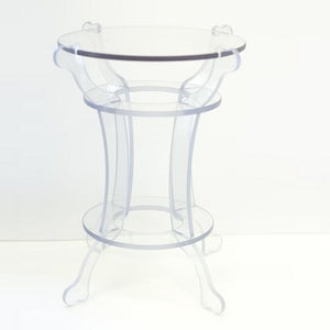 "Side Table 17"" tall - Polycarbonate"