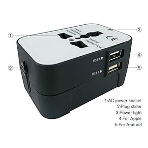 Universal Travel Outlet Adapter