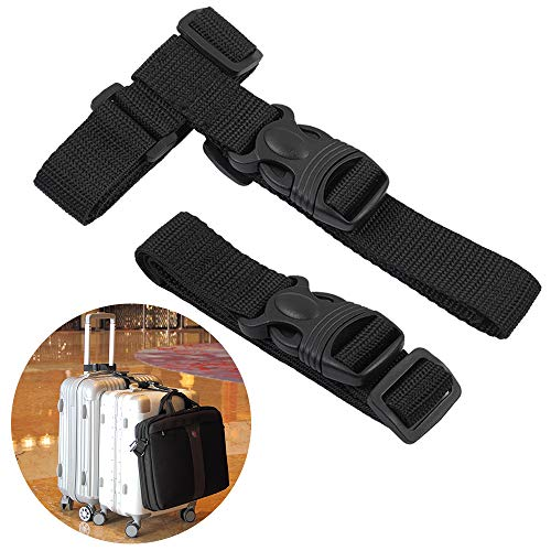 Adjustable Luggage Straps - 2 pack