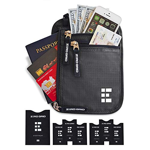 Concealed Travel Pouch & Passport Holder