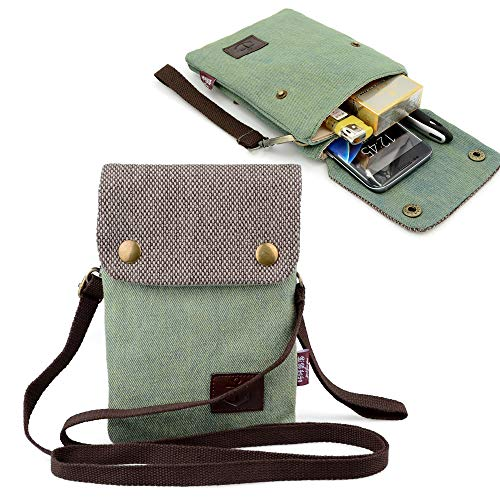 Canvas Small Crossbody Bag