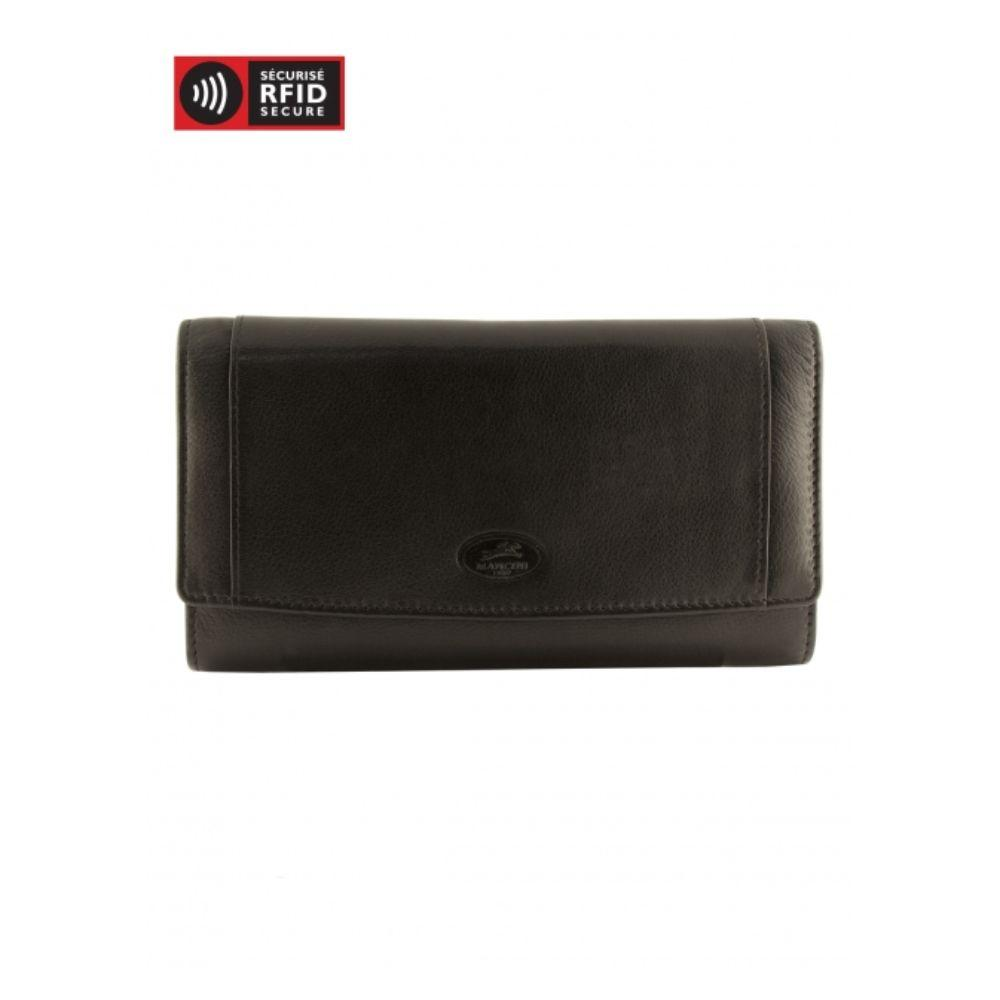 RFID Secure Ladies' Trifold Wallet