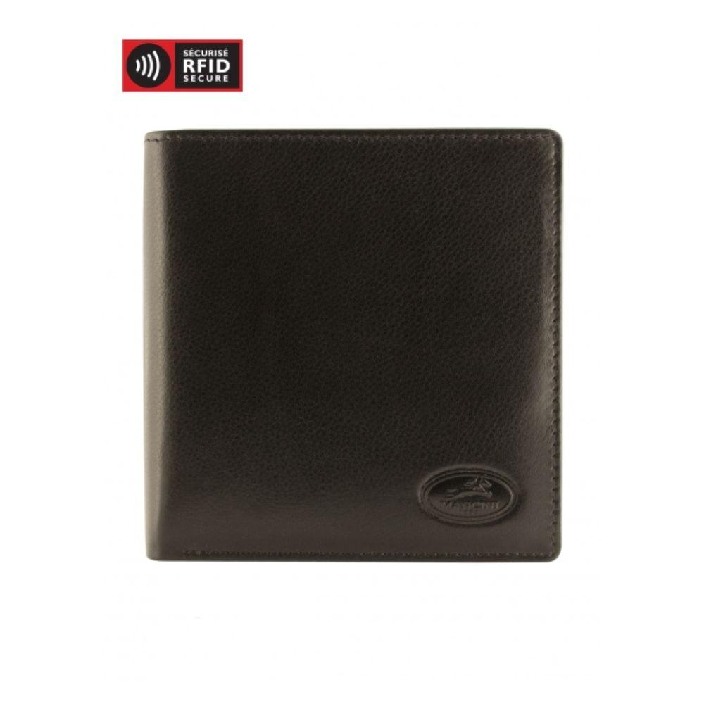 RFID Secure Men's Hipster Wallet