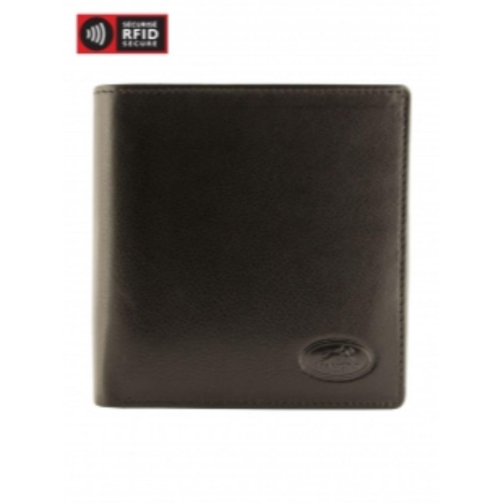 RFID Secure Men's Center Wing Hipster Wallet