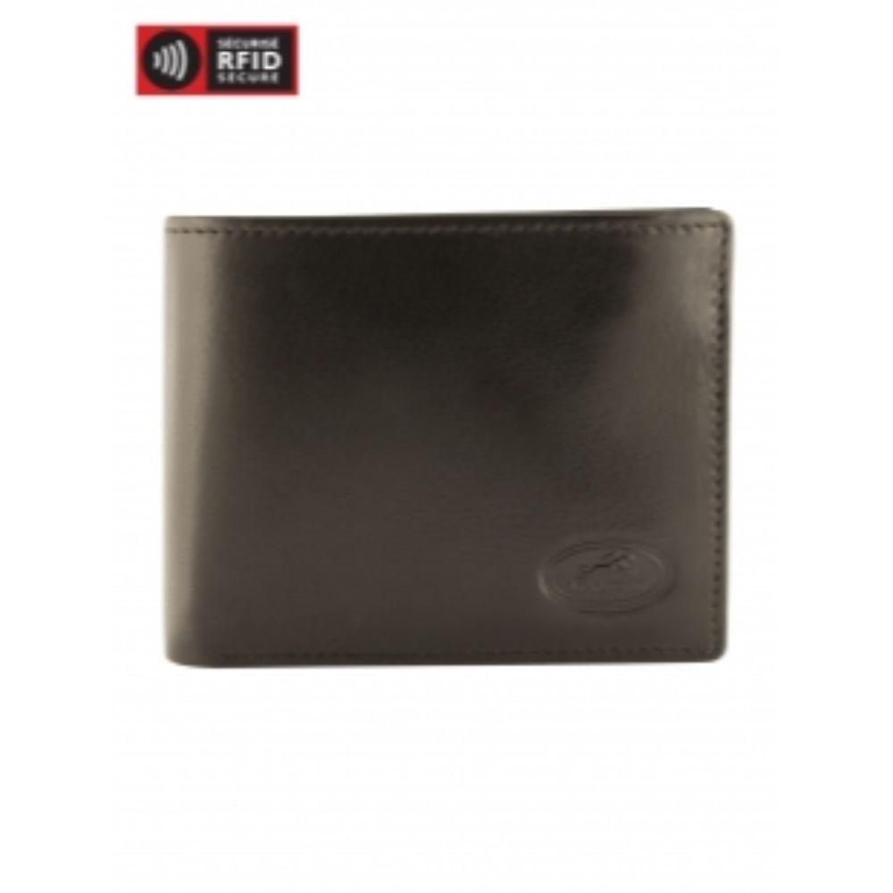 RFID Secure Men's Wallet with Coin Pocket