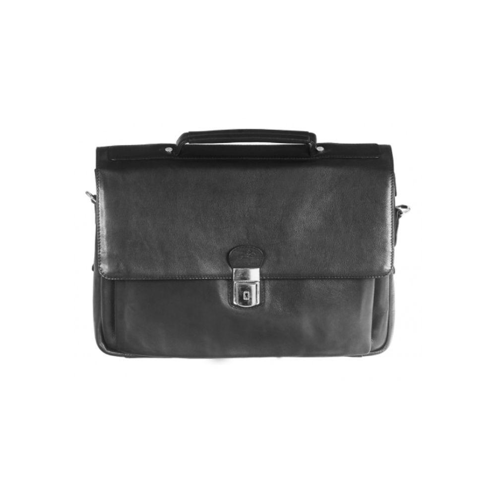 "Triple Compartment Flap Briefcase for 15"" Laptop / Tablet"