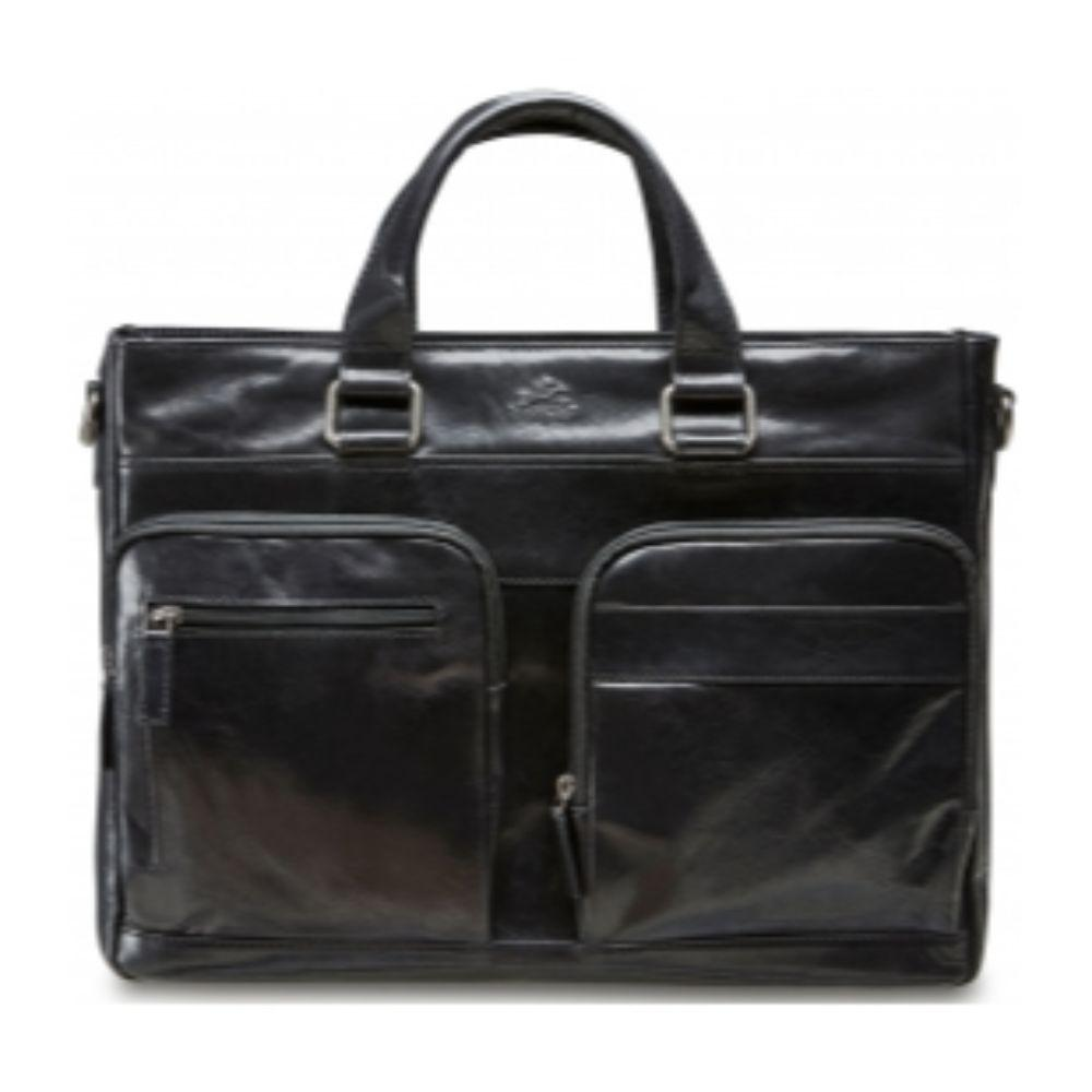 Single Compartment Laptop / Tablet Tote - Black