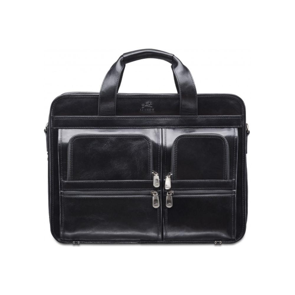 Signature Laptop / Tablet Compatible Double Compartment Top Zipper Briefcase