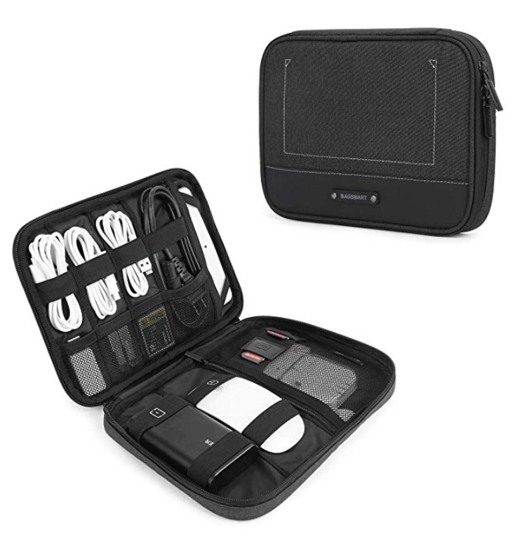 Electronics Organizer for Traveling