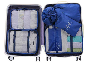 Packing Cubes For Organizing Your Luggage