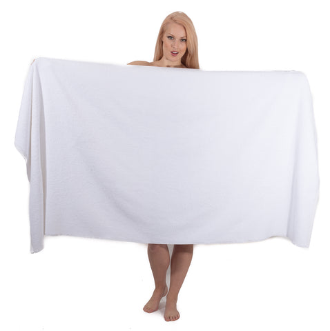 Luxury Jumbo Bath Sheets 40 x 80