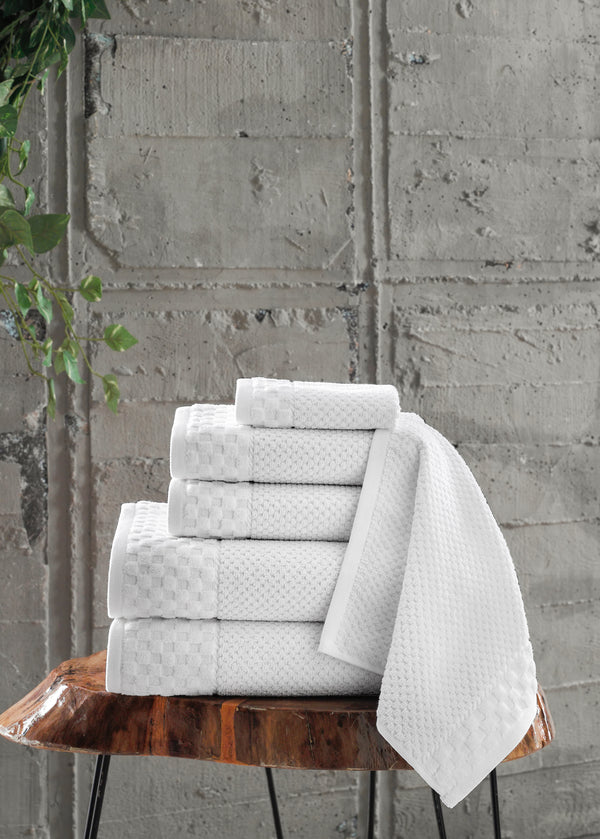 Boston Turkish Cotton Towel Set of 6 | Classic Turkish Towels
