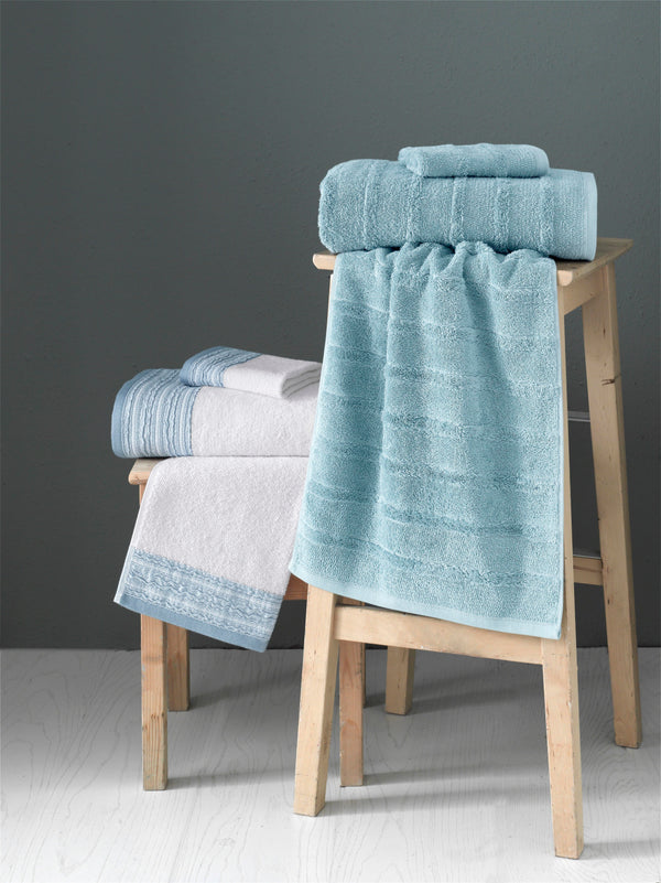 Caren & Garen Turkish Cotton Bundle Towel Set of 6 | Classic Turkish Towels