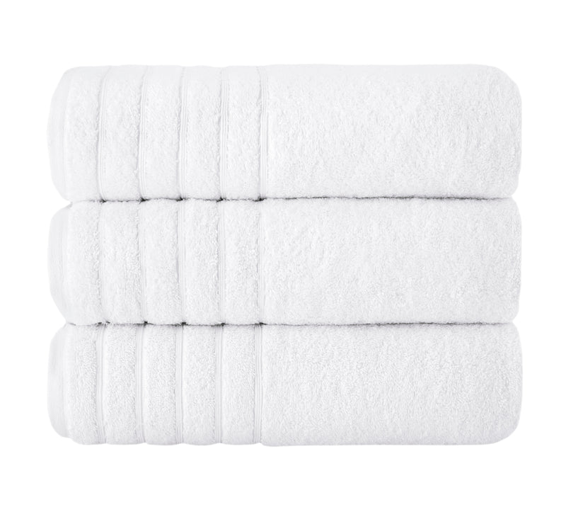 Barnum Turkish Cotton Bath Towels - 3 Pieces | Classic Turkish Towels