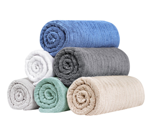Brampton Turkish Cotton Hand Towels - 4 Pieces | Classic Turkish Towels