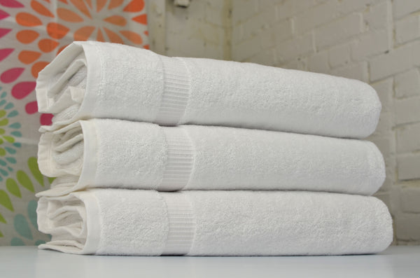 Cambridge Turkish Cotton Jumbo Bath Sheets - 3 Pieces - Classic Turkish Towels