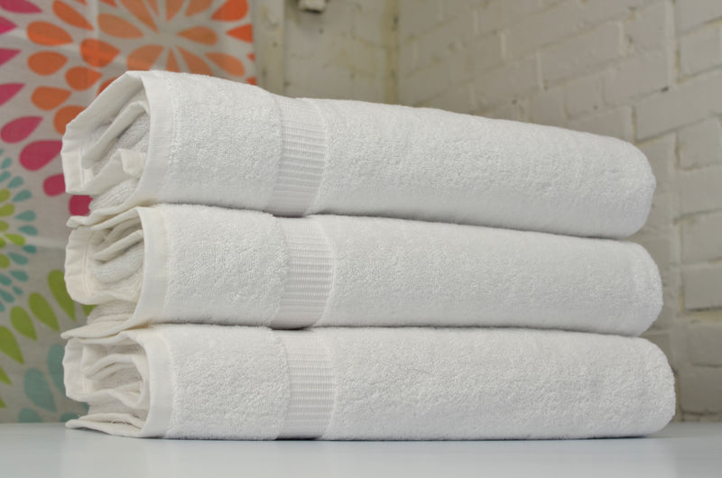 Cambridge Turkish Cotton Jumbo Bath Sheets - 3 Pieces | Classic Turkish Towels