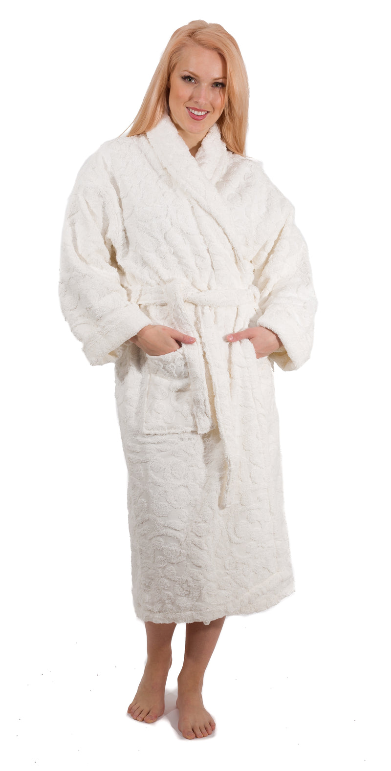 Cambridge Shawl Terry Turkish Cotton Bathrobe - Classic Turkish Towels