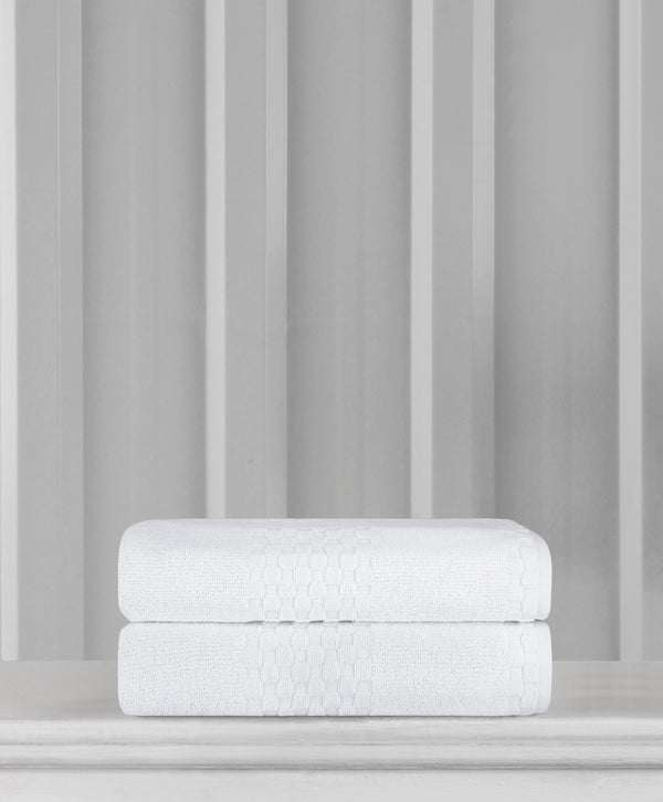 Anichini Fairfield Turkish Cotton Bath Sheets - 2 Pieces | Classic Turkish Towels