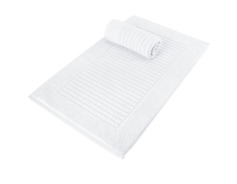 Piano Turkish Cotton Bath Mat - 2 Pieces | Classic Turkish Towels