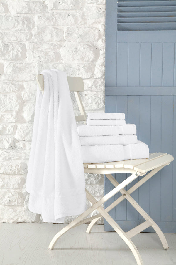 Cambridge Turkish Cotton Towel Set of 8 | Classic Turkish Towels