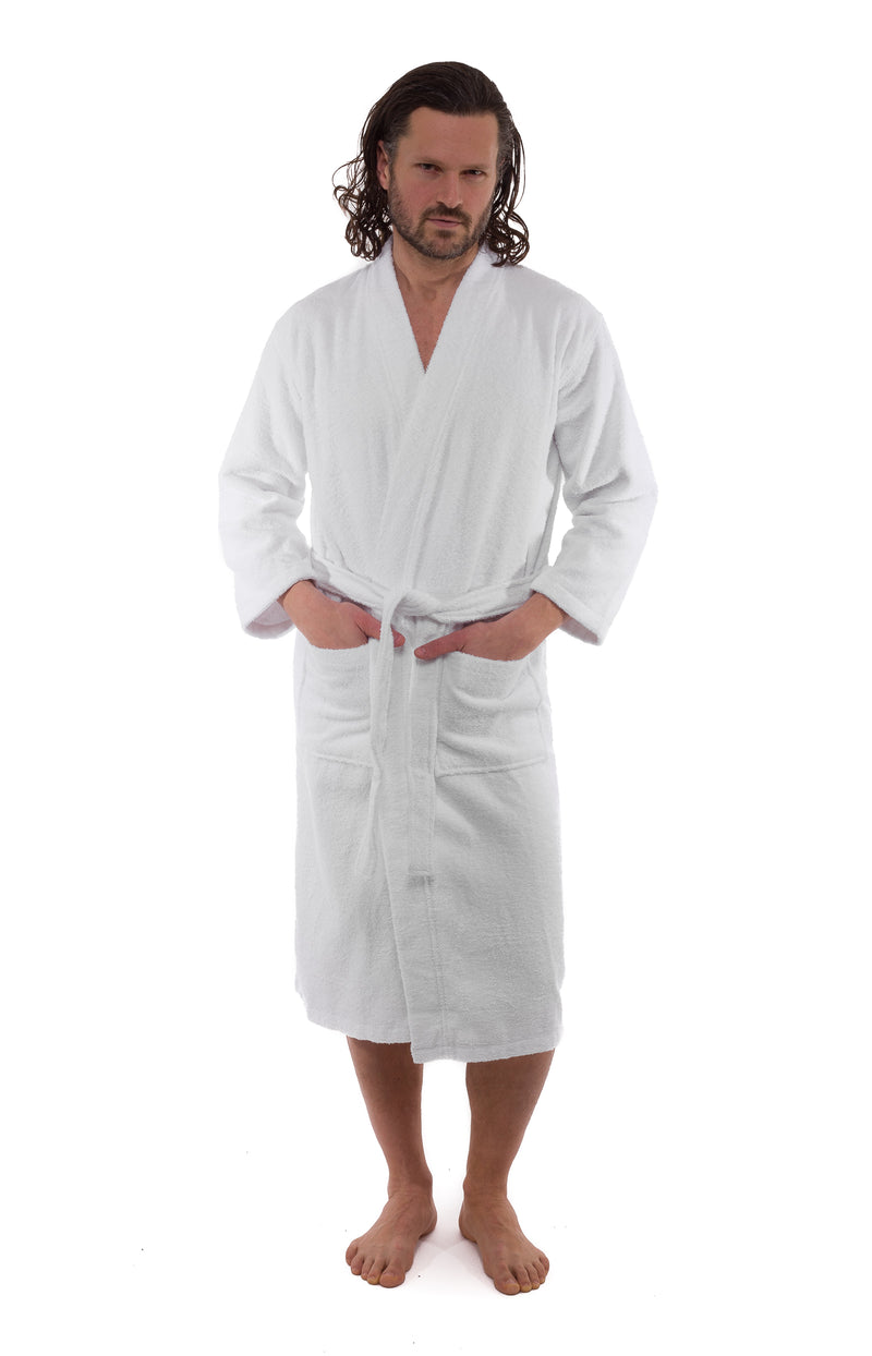 Kimono Turkish Cotton Bathrobe - Classic Turkish Towels