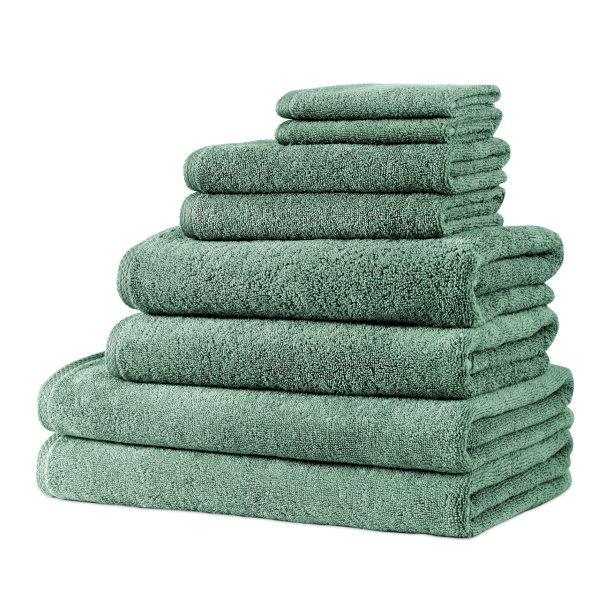 Hospitality Turkish Cotton Towel Set of 8 | Classic Turkish Towels