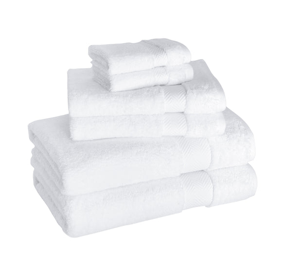 Becci Turkish Cotton Towel Set of 6