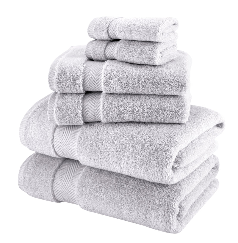 Becci Turkish Cotton Towel Set of 6 | Classic Turkish Towels