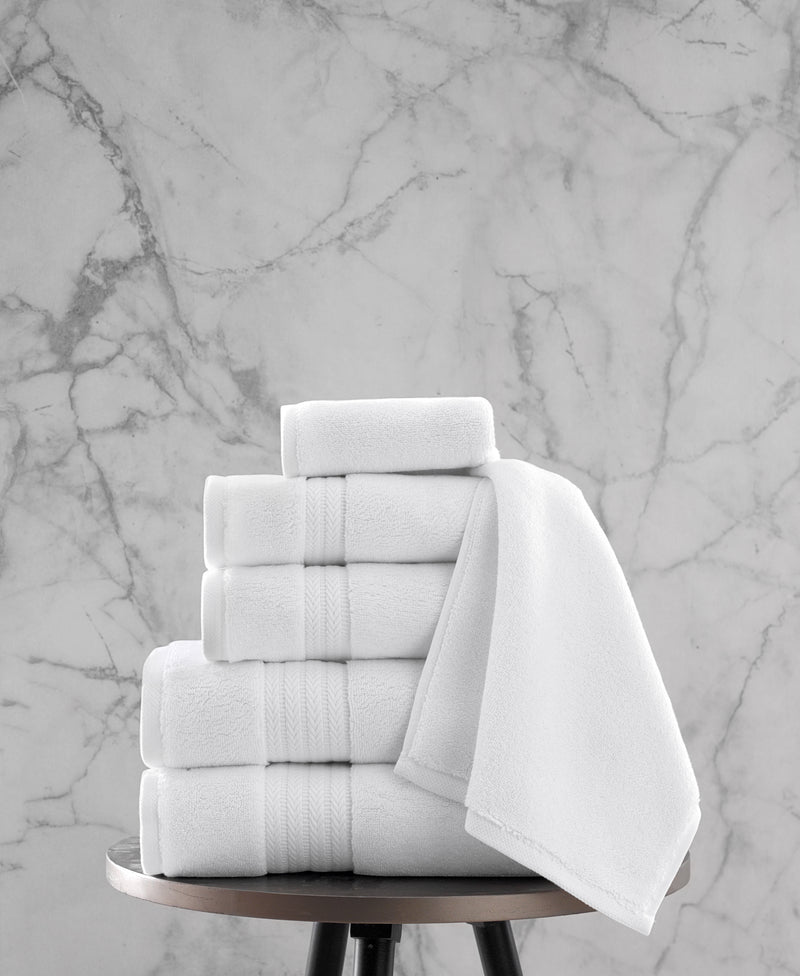 Luxe Ultimate Dense Turkish Cotton Towel Set of 6 | Classic Turkish Towels
