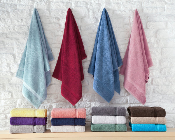 Cambridge Turkish Cotton Bath Towels - 4 Pieces | Classic Turkish Towels