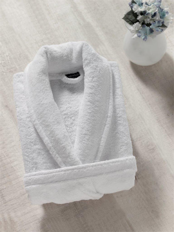 Classic Shawl Collar Turkish Cotton Bathrobe | Classic Turkish Towels