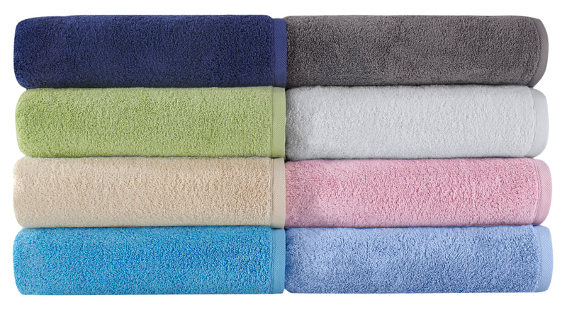 Jumbo Turkish Cotton Bath Sheet - 2 Pieces Set