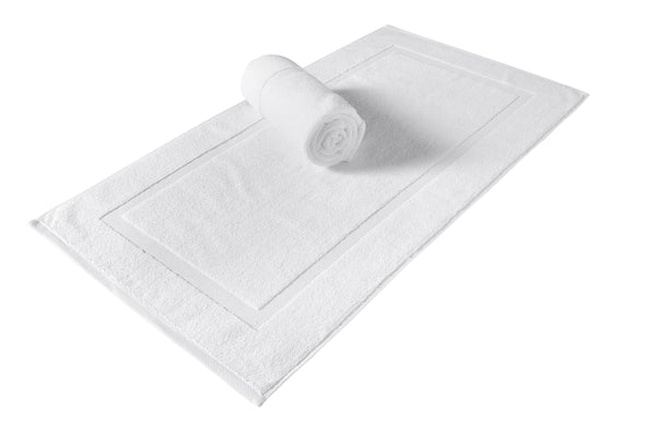 Cambridge Turkish Cotton Panel Bath Mat - 2 Pieces | Classic Turkish Towels
