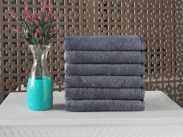 Hospitality Turkish Cotton Hand Towels - 6 Pieces - Classic Turkish Towels