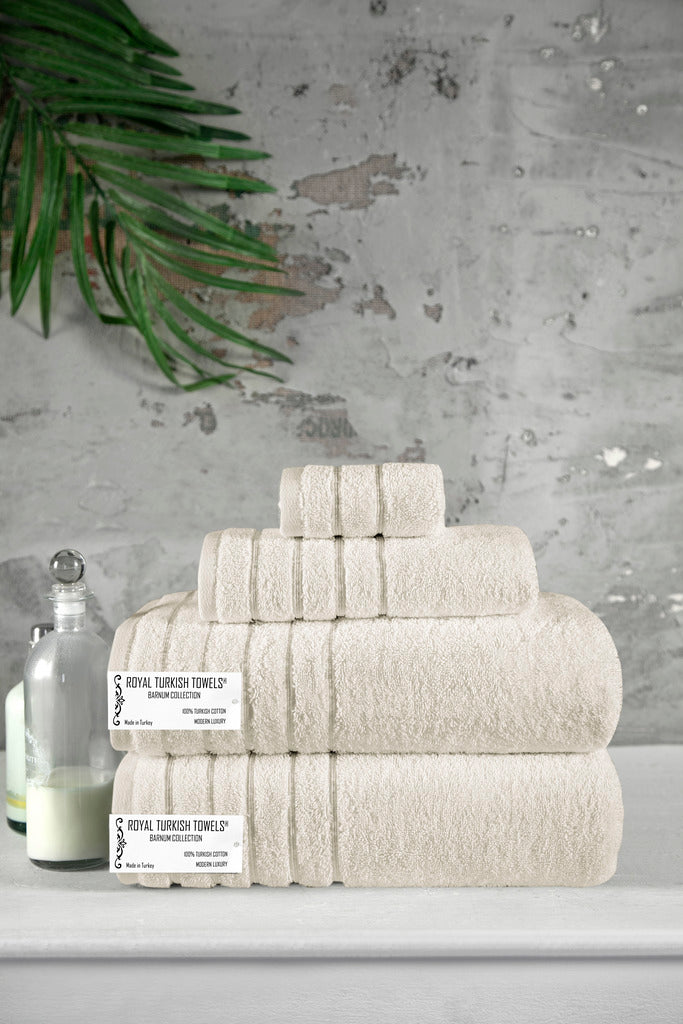 Barnum Turkish Cotton Towel Set of 4 - Classic Turkish Towels