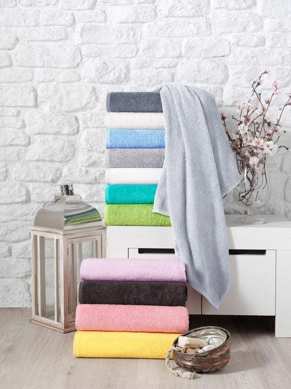 Soft Baby Turkish Cotton Bath Towels - 2 Pieces | Classic Turkish Towels