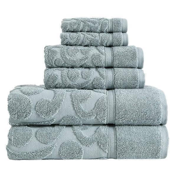 Duchene Turkish Cotton Towel Set of 6 - Classic Turkish Towels