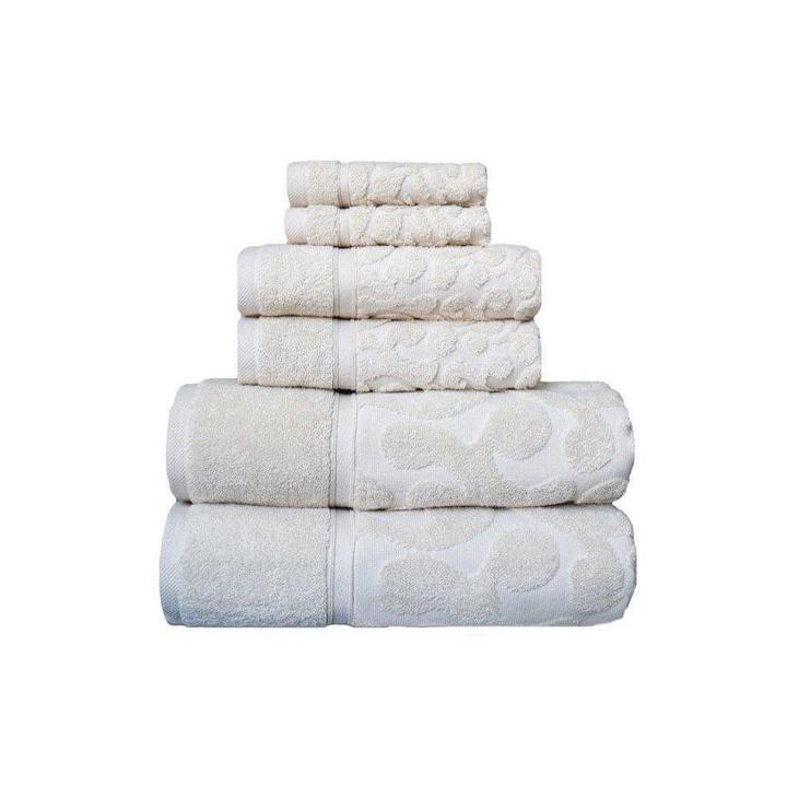 Duchene Turkish Cotton Towel Set of 6 | Classic Turkish Towels