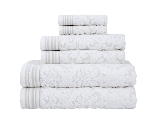 Emile Collection 6-Piece Towel Set