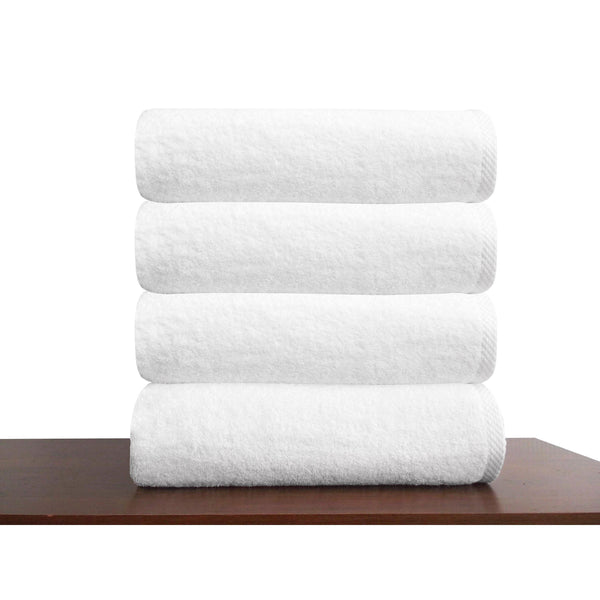 Hospitality Turkish Cotton Bath Towels - 4 Pieces - Classic Turkish Towels