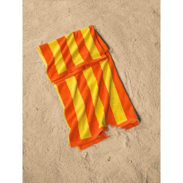 Cabana Striped Turkish Cotton Beach Towel - 2 Pieces | Classic Turkish Towels