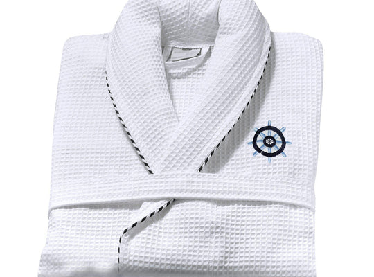 Sailor Nautical Bathrobe (White)