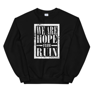 """Hope From Ruin"" Unisex Crewneck"